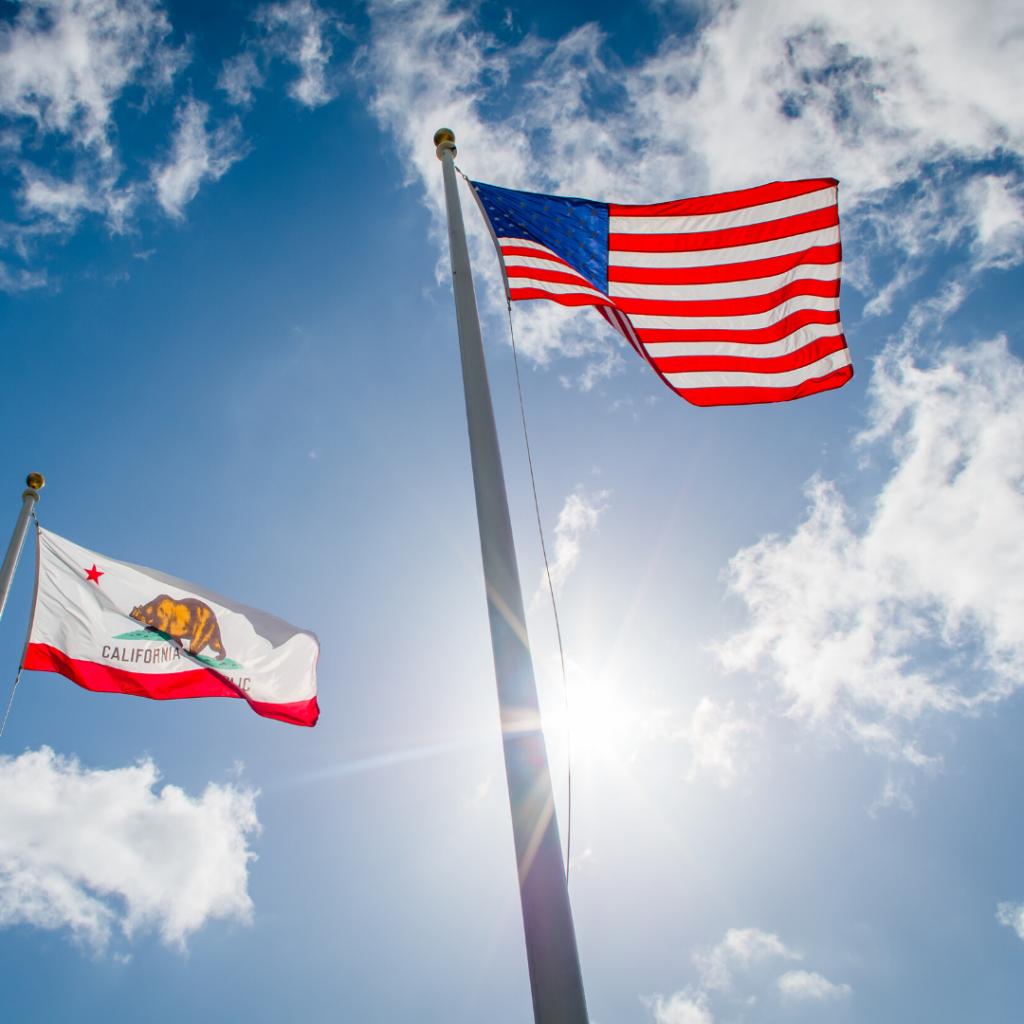 California Consumer Privacy Act- californian flag