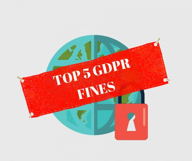 Top 5 GDPR fines