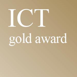 ICT Gold Award logo