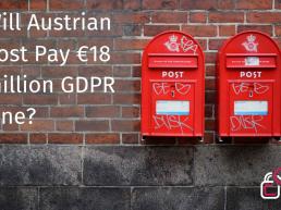 GDPR FINE Austrian bank