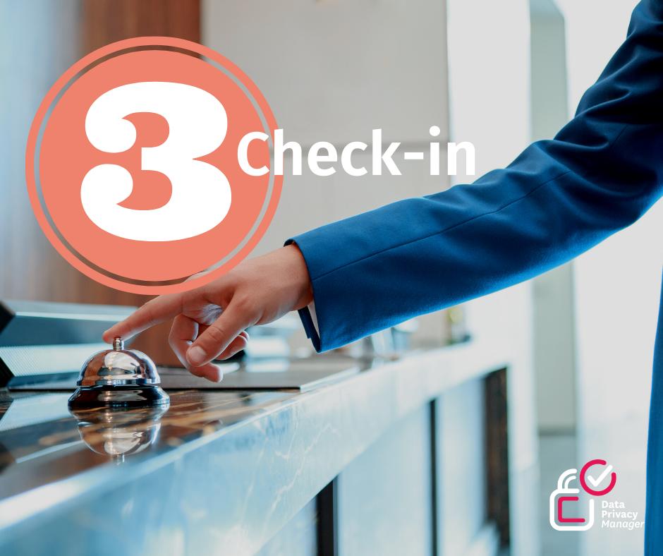GDPR compliant Hotel check-in according