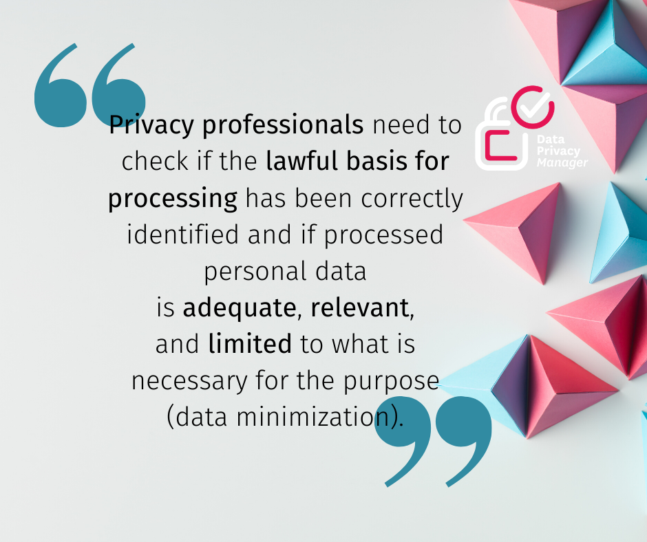 Lawful basis for data processing (2)