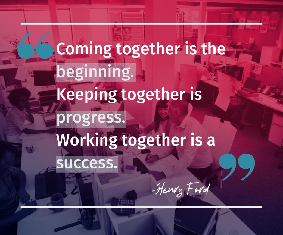 Teamwork quote- explain GDPR