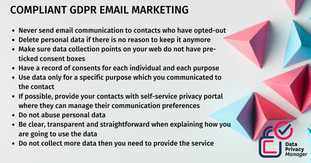 compliant gdpr email marketing list