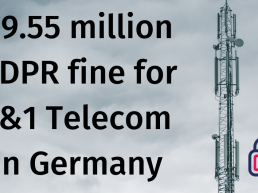 gdpr fine germany 1&1 Telecom