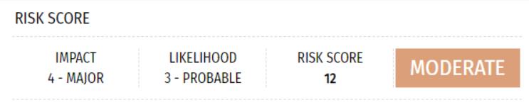 assessing risk levels